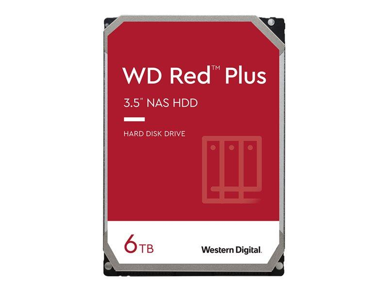 HDD 6TB WD RED 64mb cache SATA 6gb/s 3.5'
