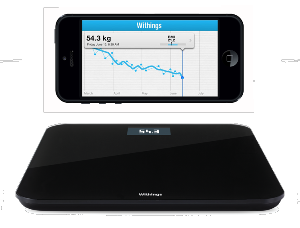 Withings - Balança Body Scale WS-30 (black)