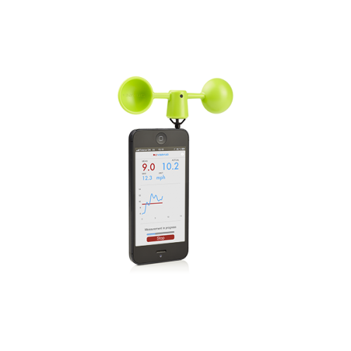 vaavud - Smartphone Wind Meter (green)