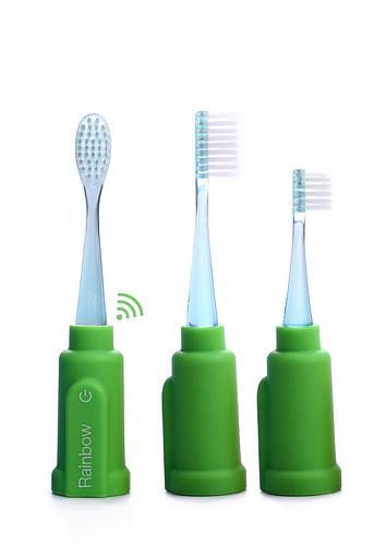 Vigilant - Escova de dentes Rainbow (green)