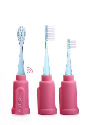 Vigilant - Escova de dentes Rainbow (pink)