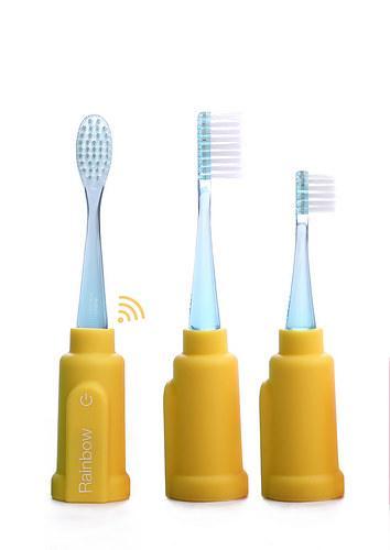 Vigilant - Escova de dentes Rainbow (yellow)