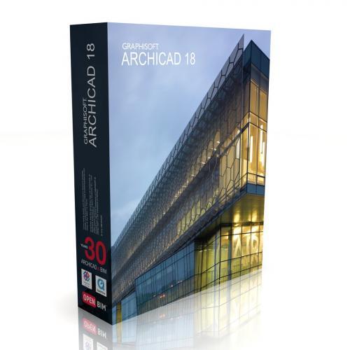 Graphisoft - ArchiCAD 18 (+3 lic com contrato)