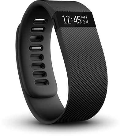 fitbit - Charge (S - black)
