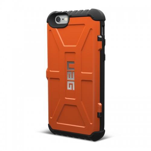 Urban Armor Gear iPhone 6/6S Plus (5.5 Screen) Trooper Card Case-Rust