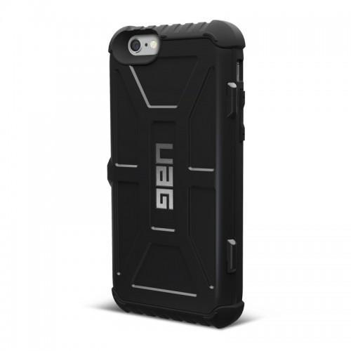 Urban Armor Gear iPhone 6/6S Plus (5.5 Screen) Trooper Card Case-Black