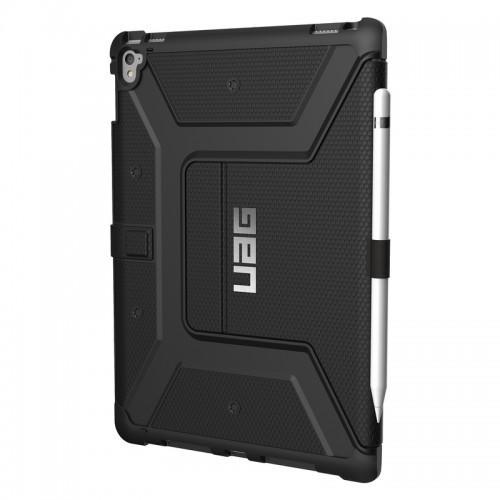 Urban Armor Gear iPad Pro 9.7' Folio Case-Black/Black-Visual Packaging