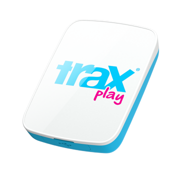 trax - traxPlay GPS Tracker (blue)