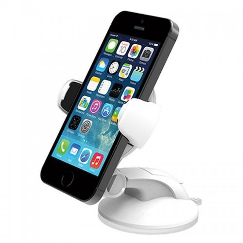 iOttie Easy Flex 3 Car Mount Holder Desk Stand for iPhone 6/6s, 6/6s Plus, 5s/5c/4S White