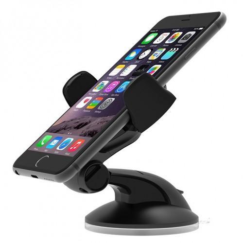 Ottie Easy Flex 3 Car Mount Holder Desk Stand for iPhone 6/6s, 6/6s Plus, 5s/5c/4S Black