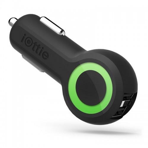 iOttie RapidVOLT Max Dual Port USB Car Charger - Black