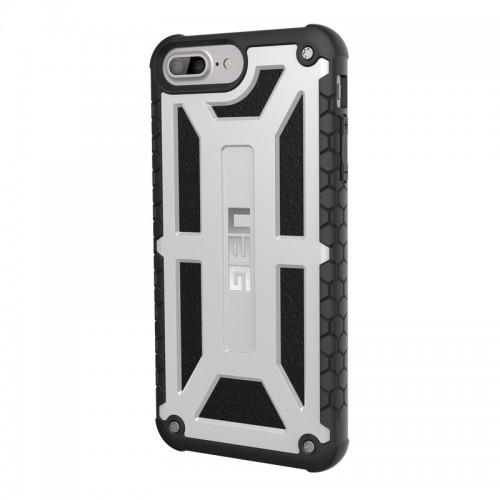 Urban Armor Gear iPhone 6/7/8 Plus (5.5 Screen) Monarch Case-Platinum/Black