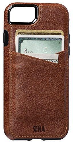 Sena iPhone 7 Lugano Wallet - Cognac