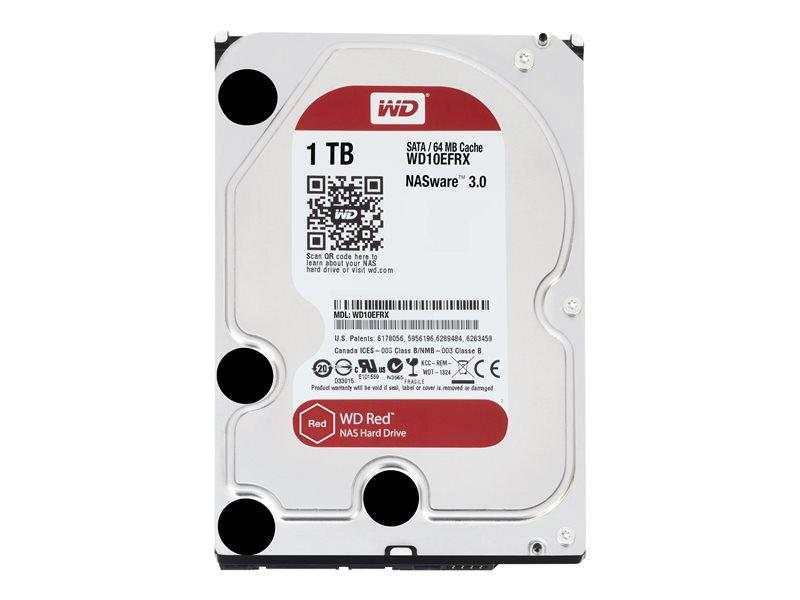 WD HDD 1TB WD RED 64mb cache SATA 6gb/s 3.5'