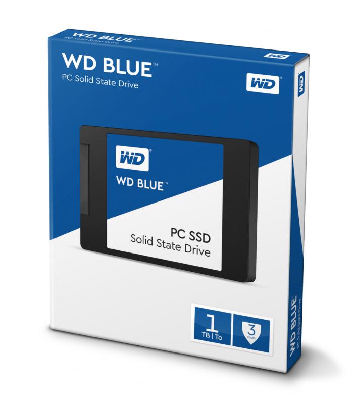 Disco SSD WD Blue 1TB SATA3-545R/525W-100K IOPs