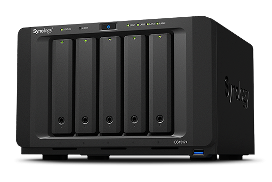SYNOLOGY Servidor de rede DiskStation DS1517+