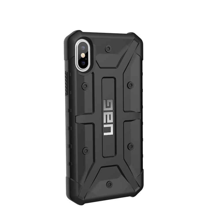 Urban Armor Gear iPhone X Pathfinder Case- Black/Silver