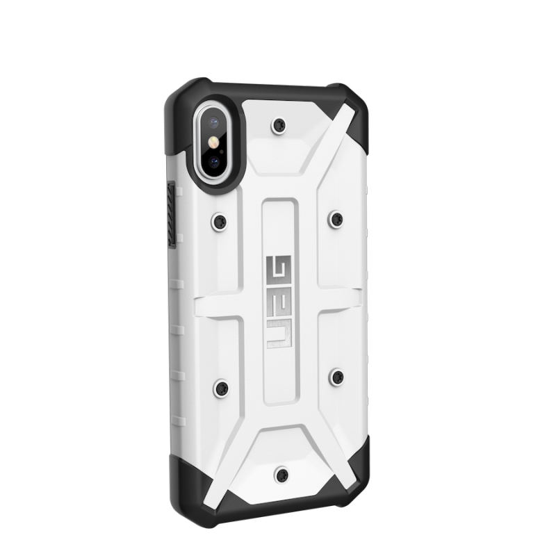 Urban Armor Gear iPhone X Pathfinder Case- White/Silver
