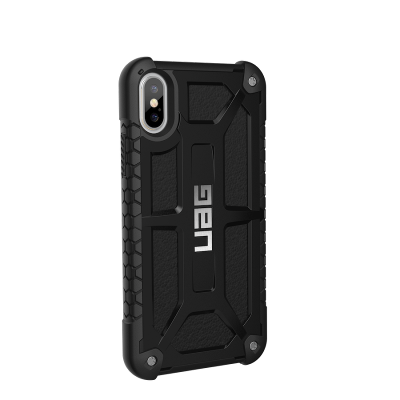 Urban Armor Gear iPhone X Monarch Case- Midnight/Black