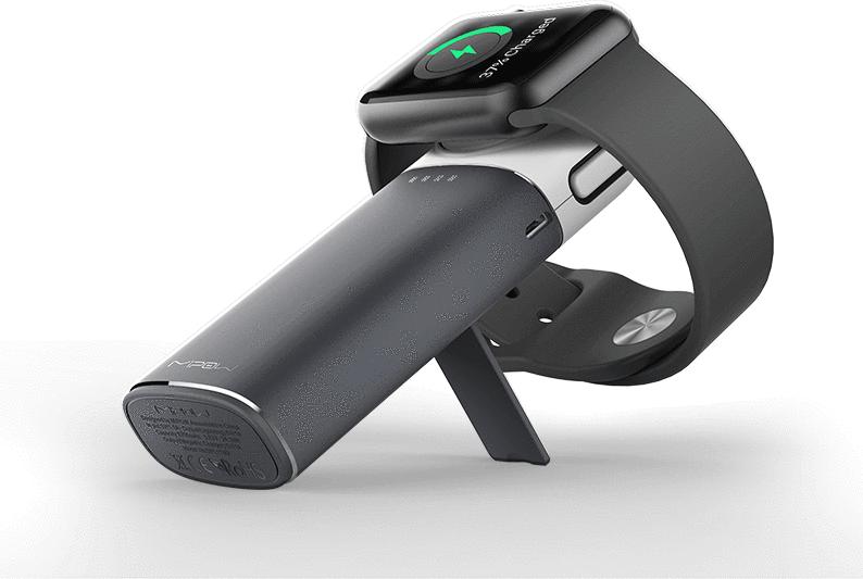 Mipow - PowerTube (for iPhone & Apple Watch - grey)