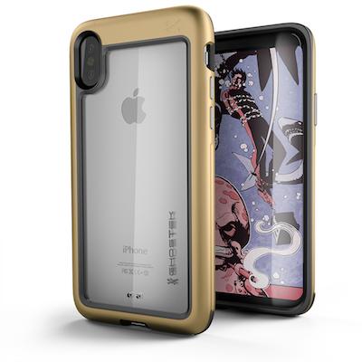 Ghostek Atomic Slim Apple iPhone X Gold
