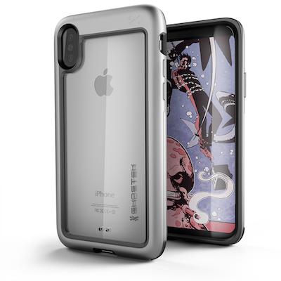 Ghostek Atomic Slim Apple iPhone X Silver