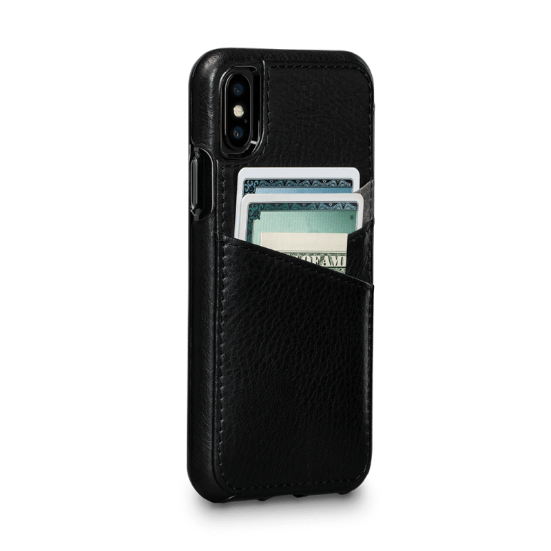 Sena iPhone XS / X Bence Lugano Wallet Black