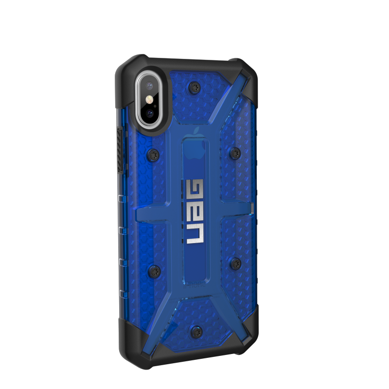 Urban Armor Gear iPhone X Plasma Case- Cobalt/Black/Silver