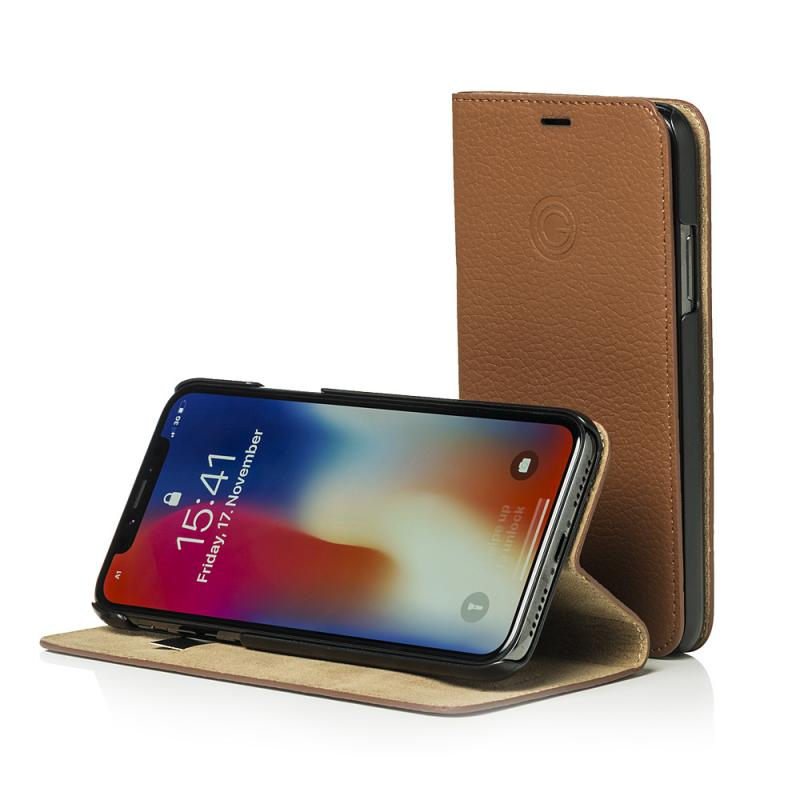 Mike Galeli Book Case MARC for iPhone X Cappuccino