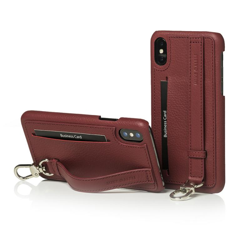 Mike Galeli Back Case JESSE for iPhone X Plum