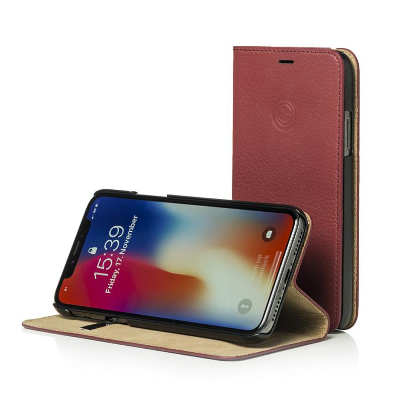 Mike Galeli Book Case MARC for iPhone X Plum