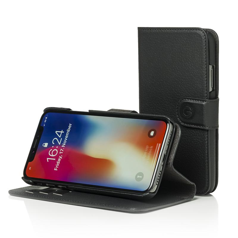 Mike Galeli Wallet Case JOSS for iPhone X Black
