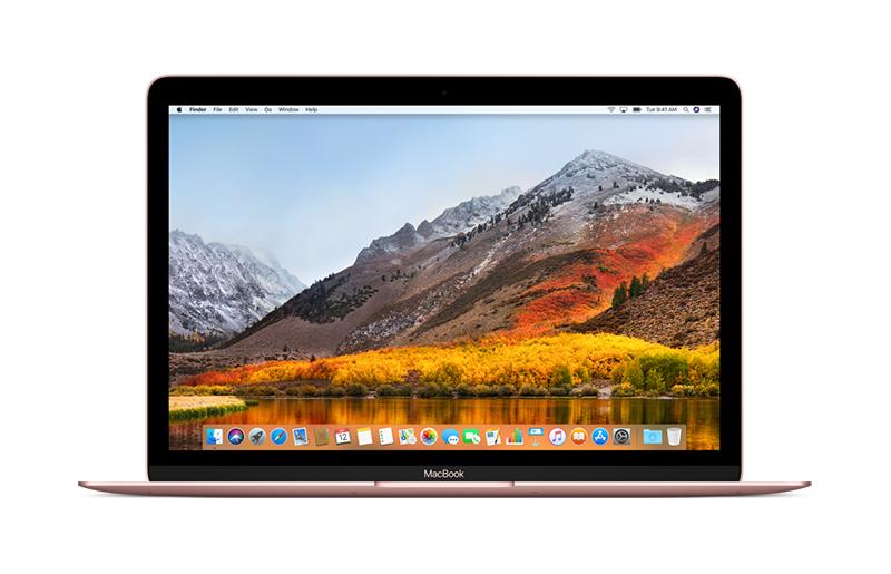 MacBook 12': 1.2GHz dual-core Intel Core m3, 256GB - Rose Gold