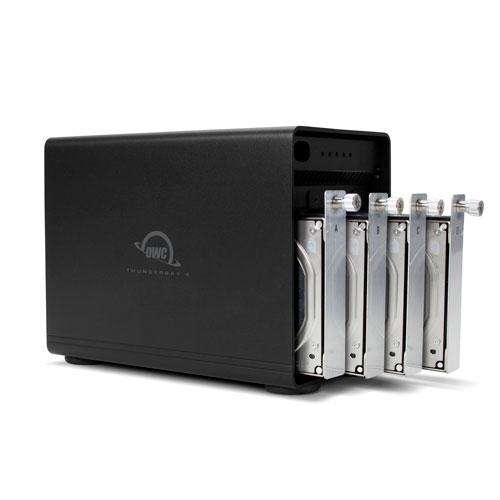 ThunderBay 4 TB3 Enclosure + SoftRAID (RAID 5)