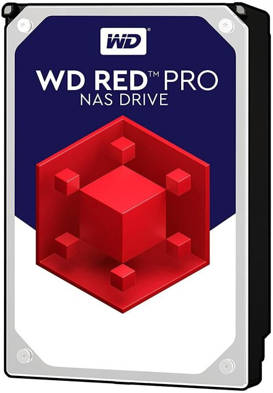 HDD 10TB WD RED PRO 256mb cache 7200rpm SATA 6gb/s 3.5'