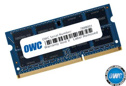 OWC - 8.0GB PC3-12800 SO-DIMM 204 Pin w/Lifetime Warranty