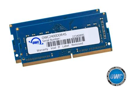 OWC - 16.0GB PC4-19200 2400MHz SO-Dimm Kit (8GB + 8GB) w/Lifetime Warranty
