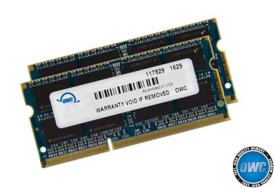 OWC - 32.0GB DDR3 1867MHZ PC3-14900 Kit (16GB x 2) w/Lifetime Warranty
