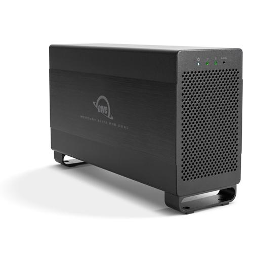 OWC Mercury Elite Pro Dual USB3.1 & Thunderbolt 2 Enclosure