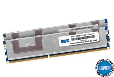 8GB KIT (2X4GB) DDR3 ECC PC10600 1333MHz SDRAM Mac Pro