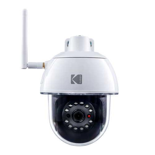 Kodak - Security Camera Outdoor Motorized EP101WG
