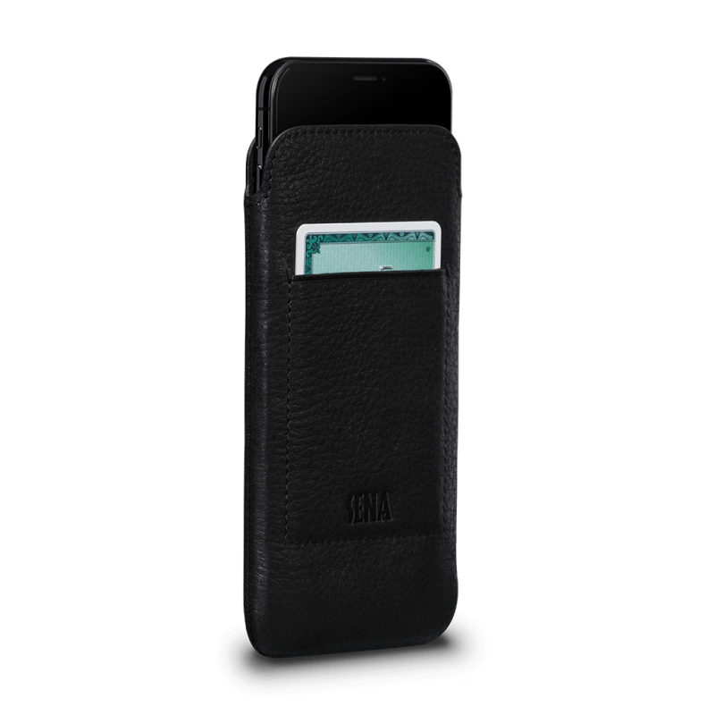 Sena Bence UltraSlim Wallet iPhone XS / X Black