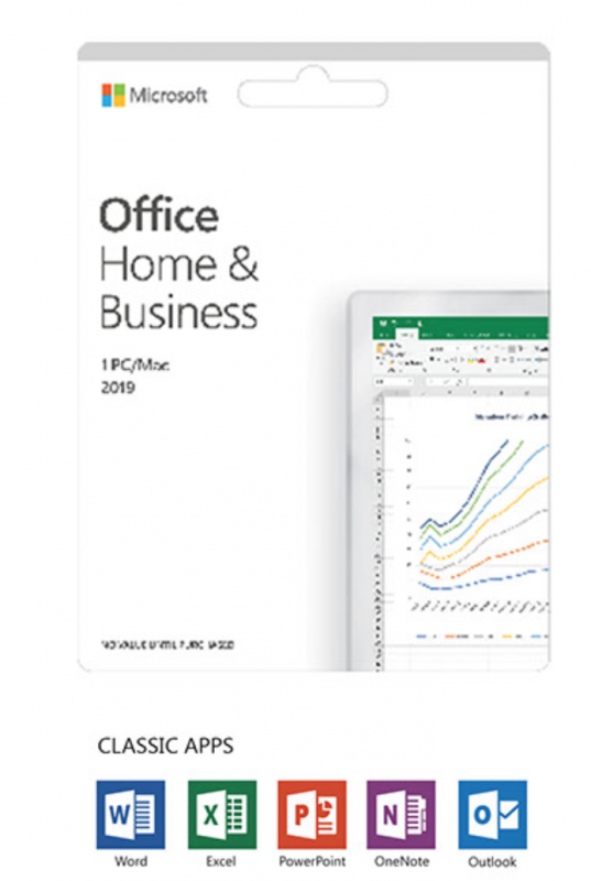 Office Home & Business 2019 Português EuroZone Medialess