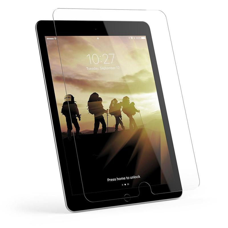 Urban Armor Gear iPad (2017;9.7 screen) Glass Screen Protector- Retail Package