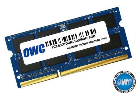 OWC - Memory 8GB SO-DIMM PC8500 1066MHz