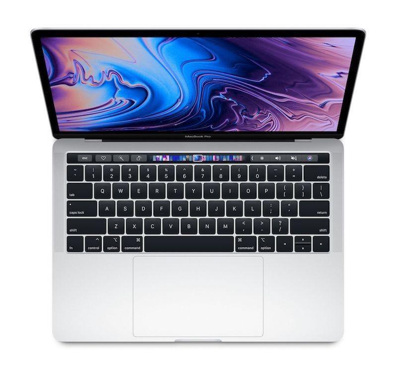 MacBook Pro 13' Touch Bar: 2.4GHz quad-core 8th-generation IntelCorei5 processor, 512GB - Silver