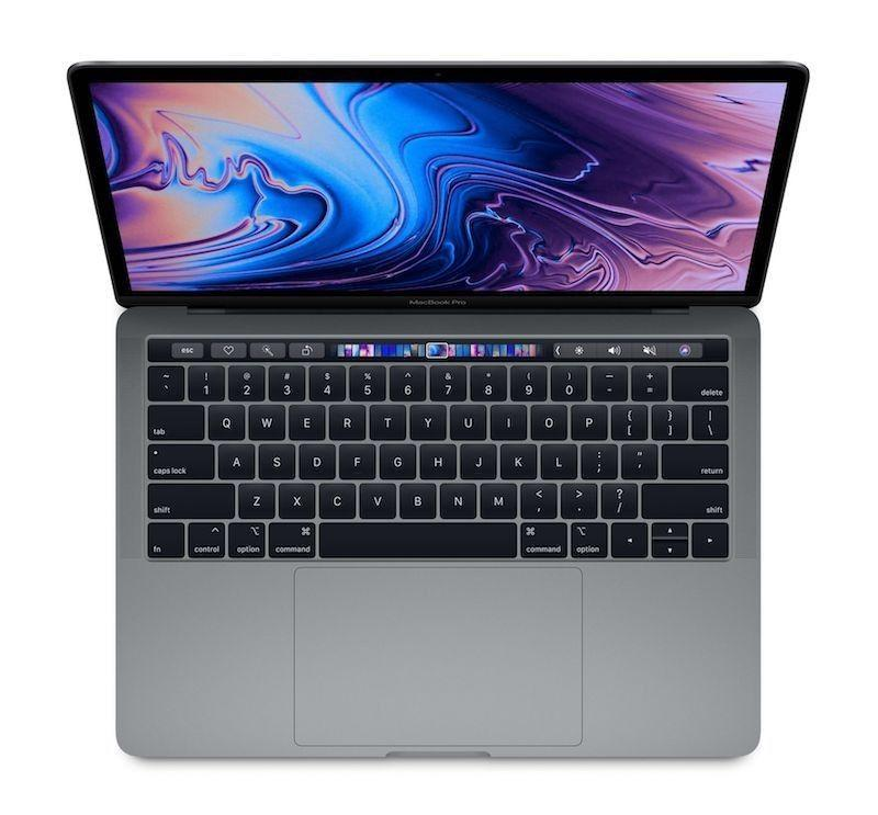 MacBook Pro 13' Touch Bar: 2.8GHz quad-core 8th-generation Intel Core i7 processor,16GB, 512GB - Space Grey