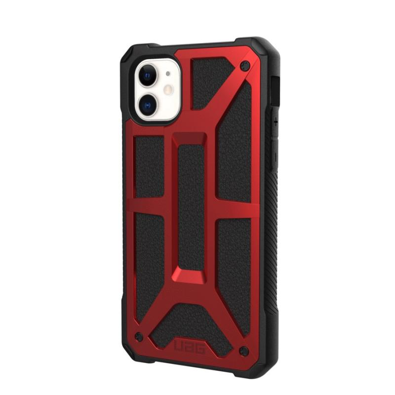 Urban Armor Gear Apple iPhone 11 (6.1') Monarch- Crimson