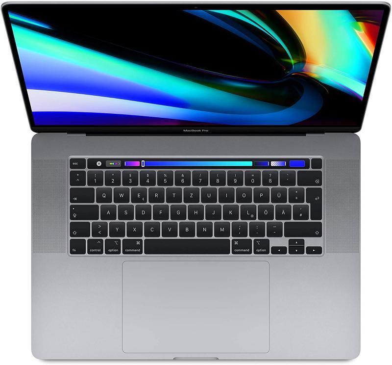 MacBook Pro 16'TBar i7 6-core/2.6GHz/16GB/RP5300M/512GB - Cinzento Sideral