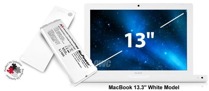 Battery MacBook 13' White